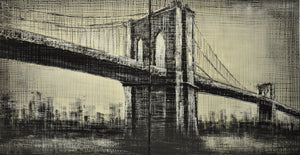 New York bridge Painting