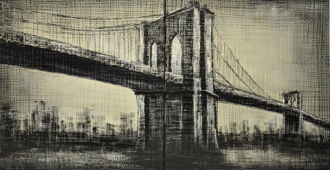 New York bridge Painting - Wall Décor - themayacompany