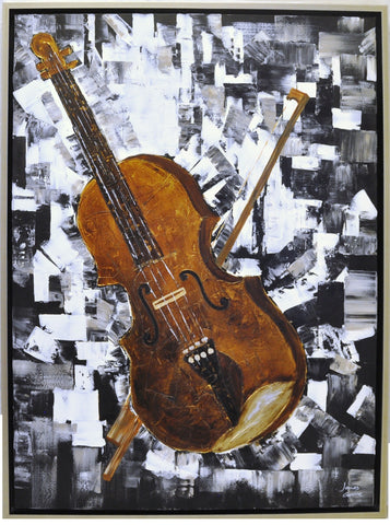 Violin Painting - Wall Décor - themayacompany