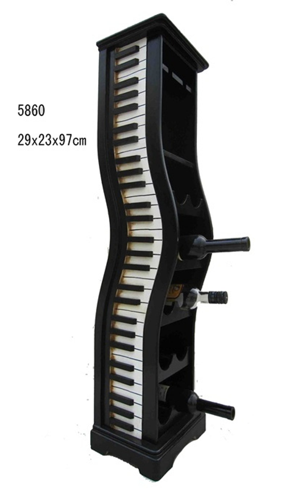 Piano Wine Holder