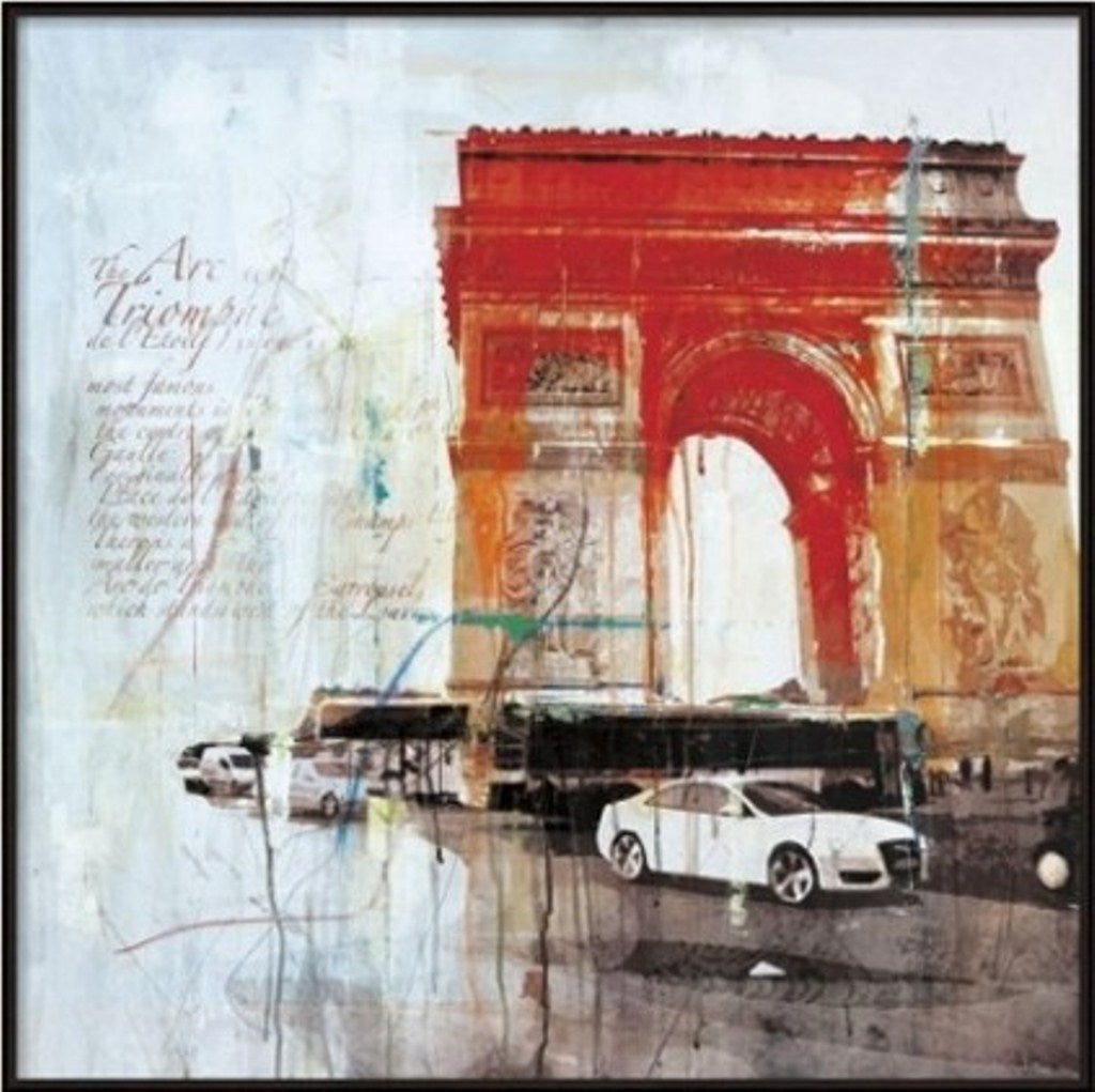 Arc du Triomphe Painting