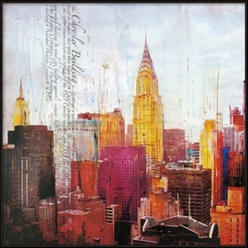 New York, New York Painting