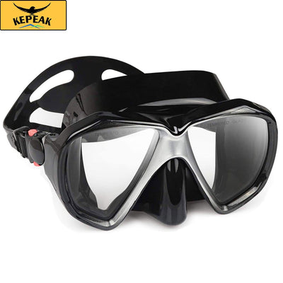 Kepeak Panoramic HD Scuba Diving Mask With Silicone Skirt - KEPEAK-Pro