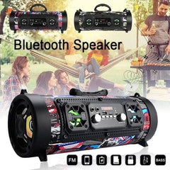 Kepeak Outdoor USB/AUX/TF Card Bluetooth 4.2 Subwoofer Wireless Speaker - KEPEAK-Pro