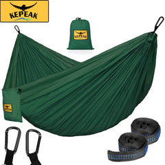 Kepeak High Strength Lightweight Nylon Portable Camping Hammock - KEPEAK-Pro