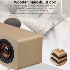 Kepeak  Supports TF FM Wooden Wireless Bluetooth Speaker - KEPEAK-Pro