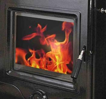 Precision Inset Stove Glass HF357i-0