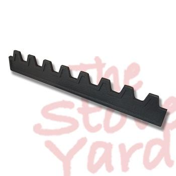 Graphite 10 Fire Fence/Log Retainer