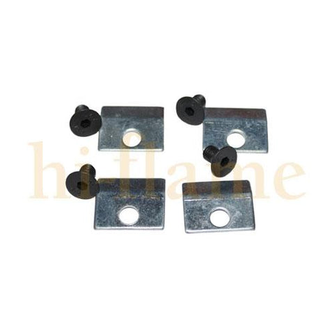 Graphite 8 Glass Clips