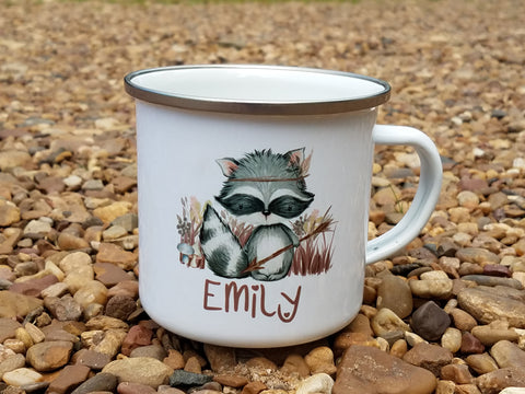 Camp Mug Raccoon