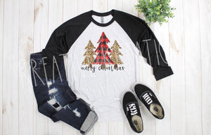 Christmas tree Raglan