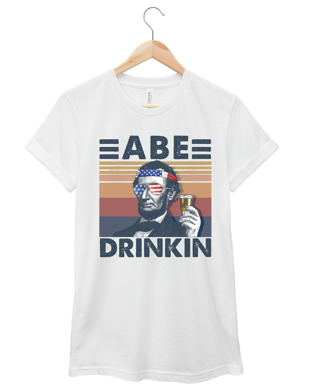 abe 4th of july shirt