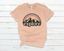 Load image into Gallery viewer, pink exlore t shirt