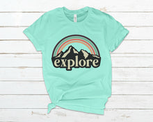 Load image into Gallery viewer, mint explore shirt