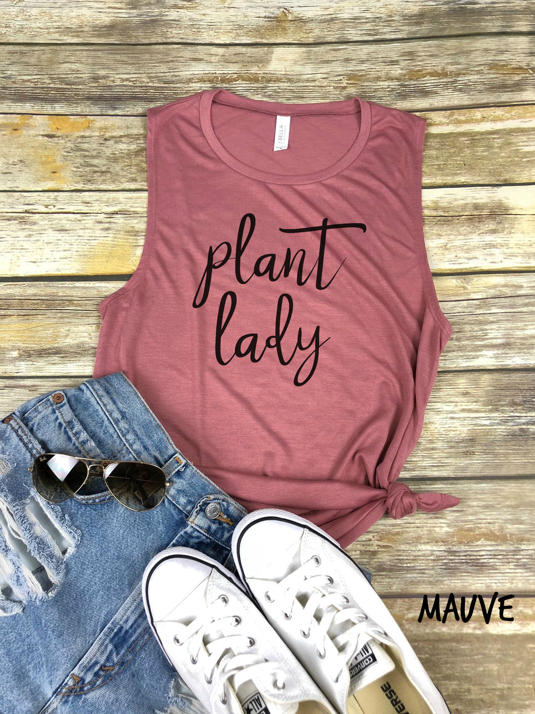 Plant Lady Muscle tank