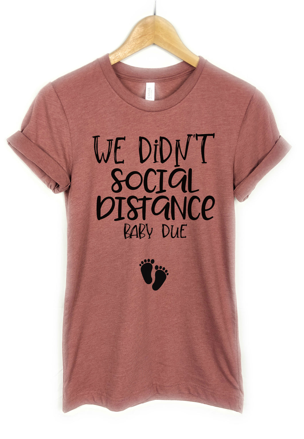 We didn't Social Distance baby due, Pregnancy announcement