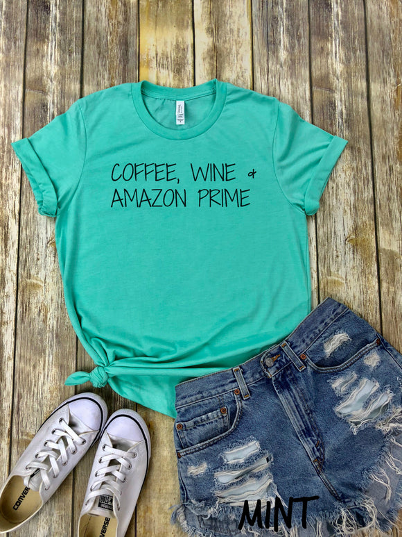 Coffee, Wine & Amazon Prime
