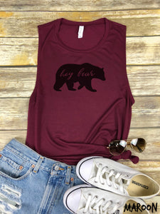 Hey Bear Muscle Tank