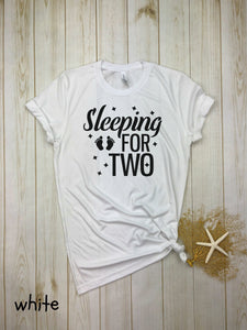 Sleeping for two
