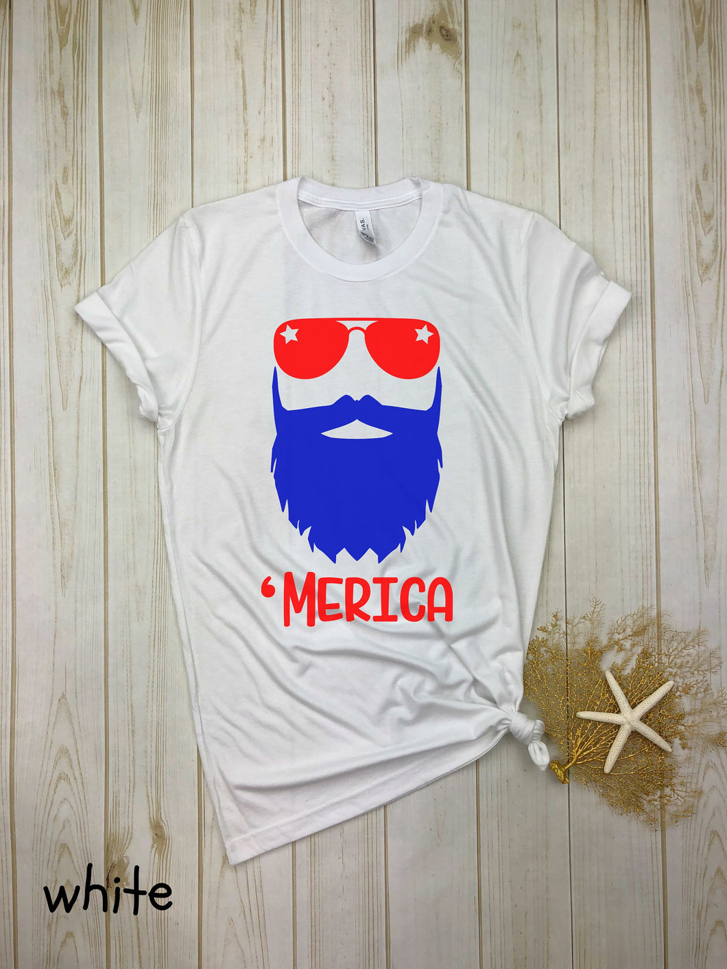 Merica Guy (Red & Blue)