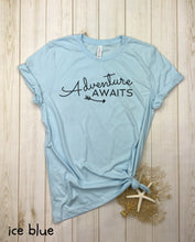 Load image into Gallery viewer, Adventure Awaits (cursive) Shirt