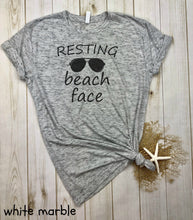 Load image into Gallery viewer, Resting Beach Face Shirt