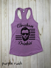 Load image into Gallery viewer, Abraham Drinkin Racerback Tank