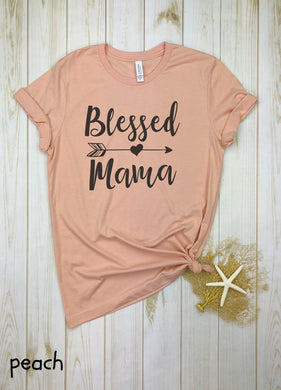 Blessed Mama Arrow Shirt