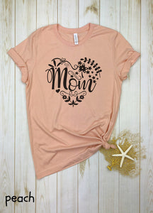 Mom Heart Shirt