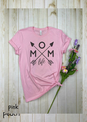 Mom Life  (with heart)  Shirt