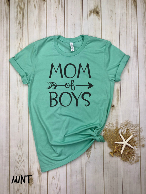 Mom of Boys (with arrows) Shirt