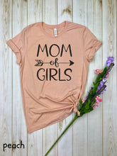 Load image into Gallery viewer, Mom of Girls Shirt