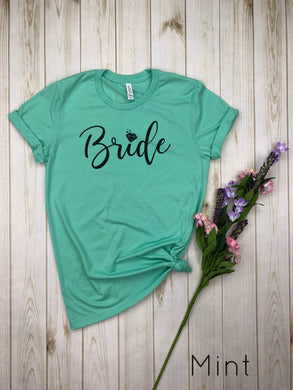 Bride with diamond Shirt