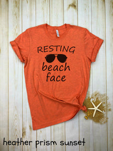Resting Beach Face Shirt