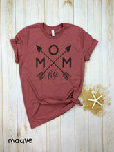 Load image into Gallery viewer, Mom Life  (with heart)  Shirt