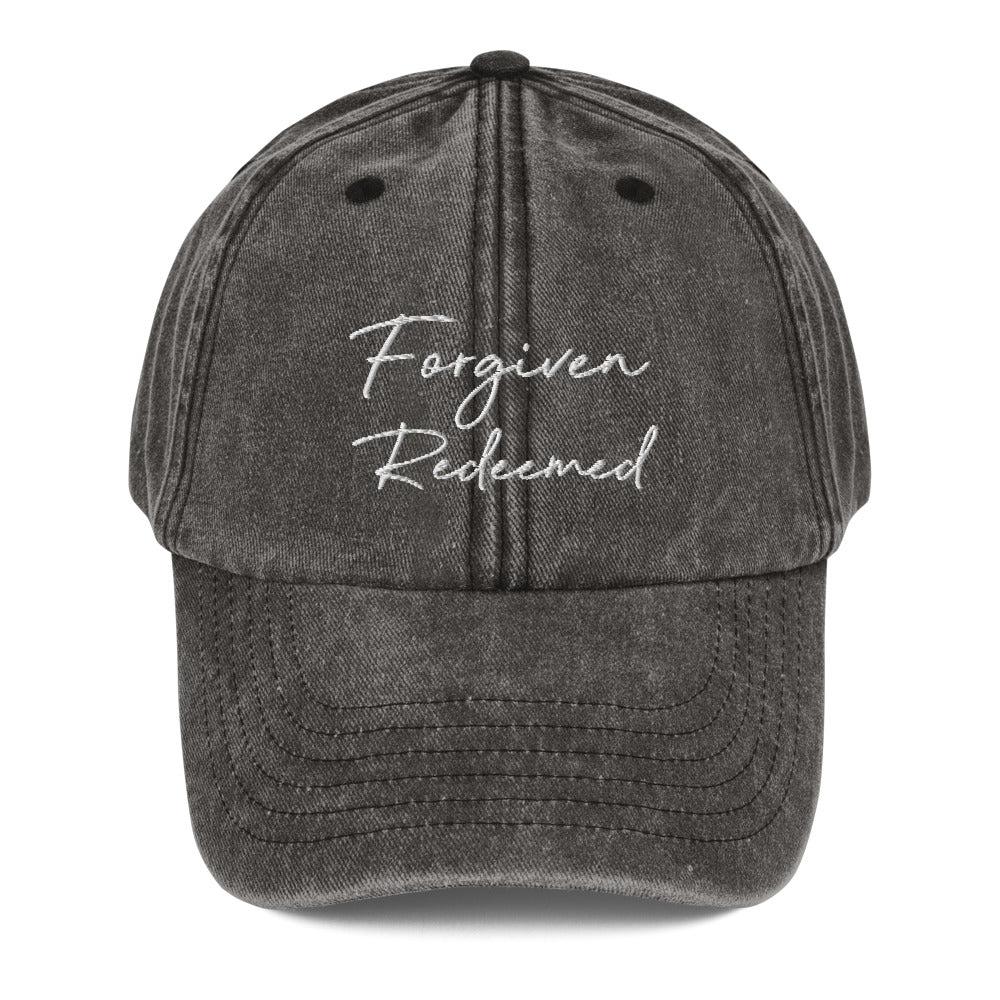 FORGIVEN REDEEMED