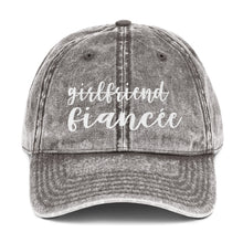 Load image into Gallery viewer, Girlfriend Fiancee Vintage Cotton Twill Cap