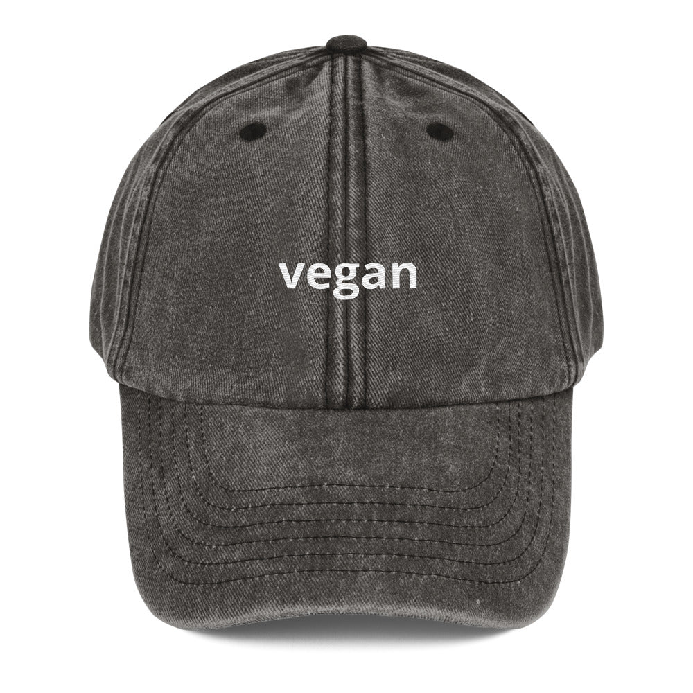Vegan Vintage Hat