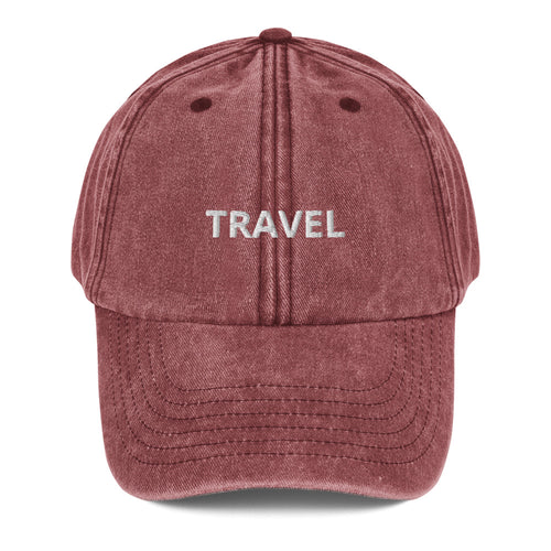 Travel Vintage Hat