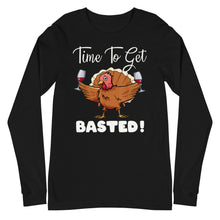 Load image into Gallery viewer, Time to Get Basted Unisex Long Sleeve Tee