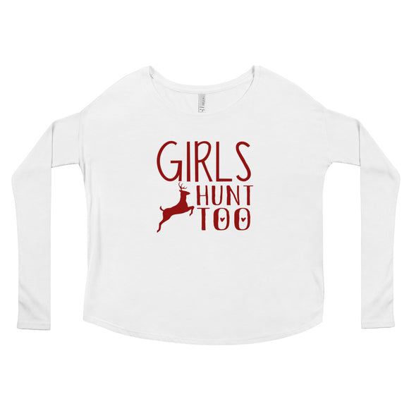 Girls Hunt Too, girls hunting shirts, hunting t-shirt