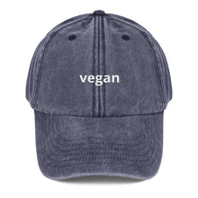 Load image into Gallery viewer, Vegan Vintage Hat