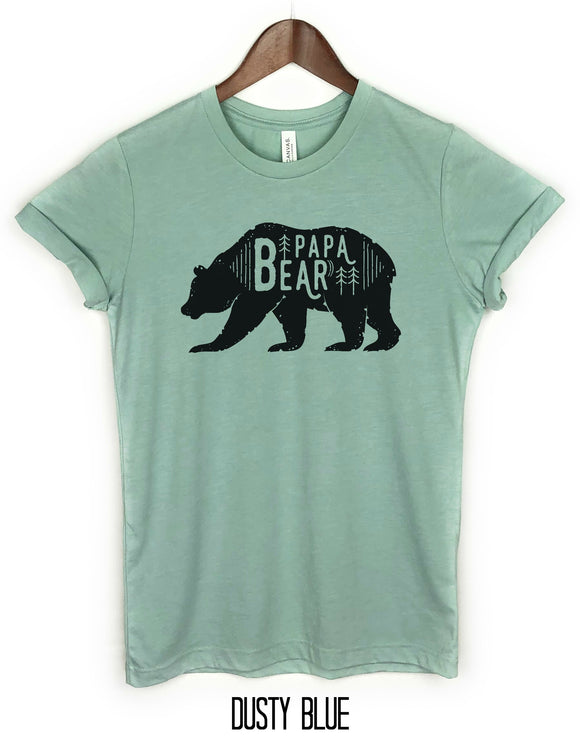 PaPa Bear Shirt, Fathers gift, Farthers day gift. Bear Family Shirts