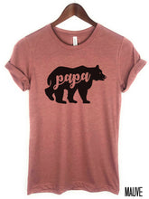 Load image into Gallery viewer, Papa Bear T-shirt
