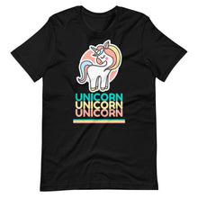 Load image into Gallery viewer, Unicorn Cute Retro Unisex T-Shirt