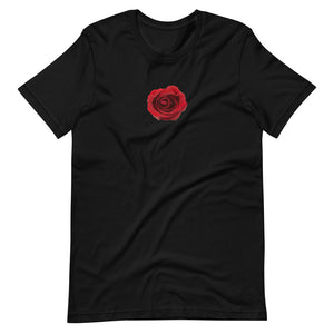 Red Rose Petal Unisex T-Shirt
