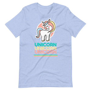 Unicorn Cute Retro Unisex T-Shirt