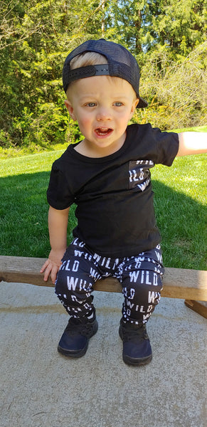 Boys WILD Top & Joggers Set