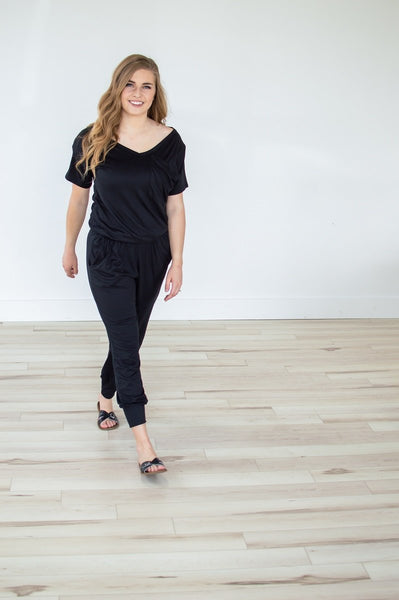 Slouchy Pocket Tee Jumper | Two Colors!