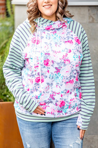 IN STOCK Pattern Mix Double Hoodie